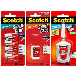 3M Super Glue Scotch Instant Adhesive Liquid Glue