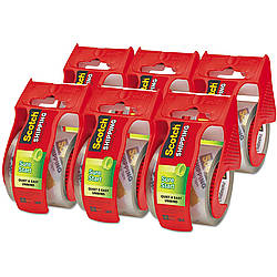 3M Sure Start Scotch Shipping Packaging Tape