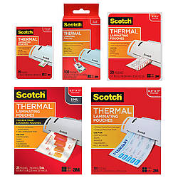 3M Scotch TP Thermal Laminating Pouches, Letter Size