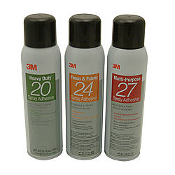 3M Series 20 Aerosol Spray Adhesives