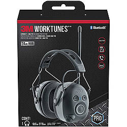 3M Scotch WorkTunes Electronic Hearing Protectors