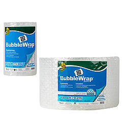 Duck Brand BWL Large Bubble Wrap Cushioning [5/16 inch bubbles]