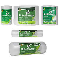 Duck Brand BWO Original Bubble Wrap Cushioning [3/16 inch bubbles]