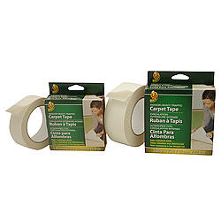 Duck Brand Heavy Traffic Double-Sided Carpet Tape [Permanent Indoor]