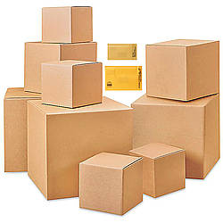 FindTape PKG Cardboard Boxes and Bubble Mailers