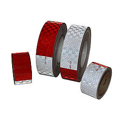 FindTape DOT-MS Microprismatic Sealed Reflective Conspicuity Tape [DOT-C2 10 yr.]