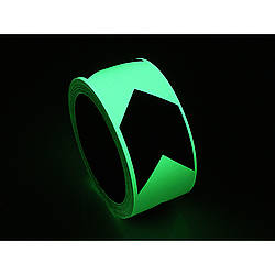 FindTape GLW-DMT Glow in the Dark Directional Marking Tape