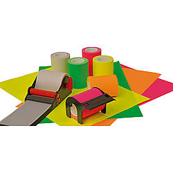 FindTape Tack-It Sticky Note Dispenser and Refill Rolls