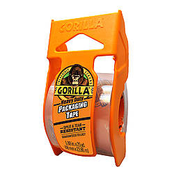 Gorilla HD-PACK Heavy Duty Packaging Tape [Crystal Clear]