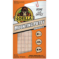 Gorilla Mounting Putty Removable Mounting Adhesive