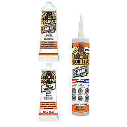 Gorilla 805/806/809 Silicone Sealant [Clear or White]