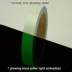 JVCC GLW-24 Professional Glow in the Dark Tape [24 Hour]