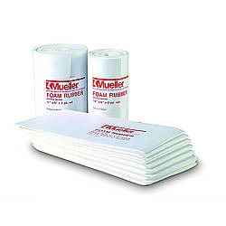 Mueller 0602 Adhesive Backed Foam Rubber [Single-Sided, Open Cell]