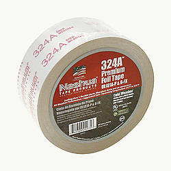 Nashua 324A Cold Weather Premium Foil Tape [UL 181 A & B listed / Linered]