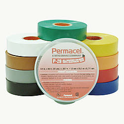 Pro Tapes P-28 All-Weather Colored Electrical Tape [canister-packed]