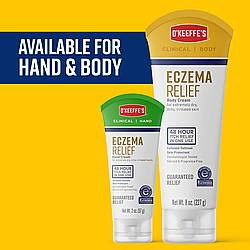 O'Keeffe's Eczema Relief Body and Hand Cream