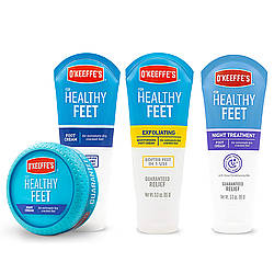 O'Keeffe's Healthy Feet Foot Creams [Regular, Night Treatment and Exfoliating]
