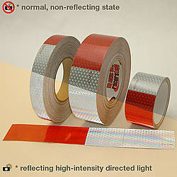 Oralite (Reflexite) V92 Daybright Microprismatic Conspicuity Tape [DOT-C2]