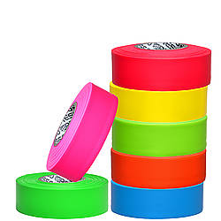 Presco Arctic Roll Flagging Tape 5.0 mil PresGlo Neon Colors