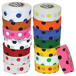 Presco Polka Dot Patterned Roll Flagging Tape