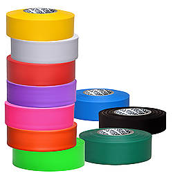 Presco Taffeta Roll Flagging Tape 2.5 mil Standard Colors