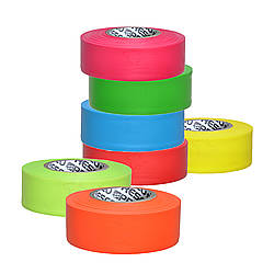 Presco PresGlo Texas Roll Flagging Tape [3 mils thick]