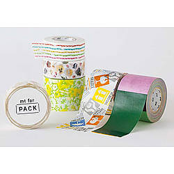 mt Pack Washi Paper Masking Tape [genuine MT Kamoi Kakoshi / produced in Japan]