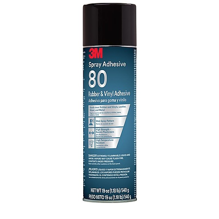 3M Scotch 80 Rubber and Vinyl Spray Adhesive