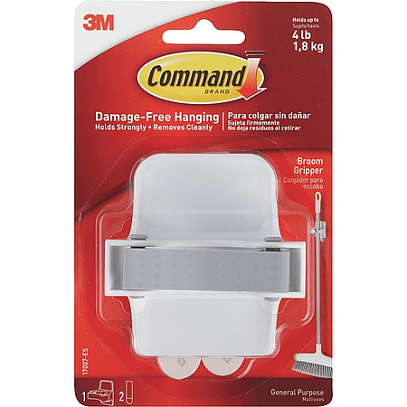 3M Scotch CMD-GR Command Broom Gripper [Removable]