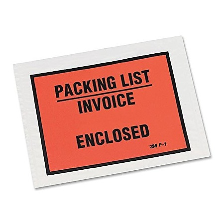 3M Scotch PLE-F1 Full-Print Packing List Envelope
