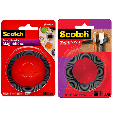 3M Scotch MT004 Indoor Magnetic Tape [Adhesive-Backed]