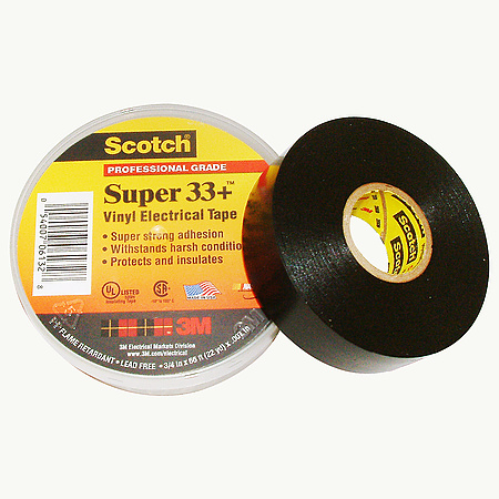 3m Scotch Super 33 Vinyl Electrical Tape Findtape Com