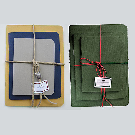 Antica Cartotecnica AC3 Set of Books with Rope Twine