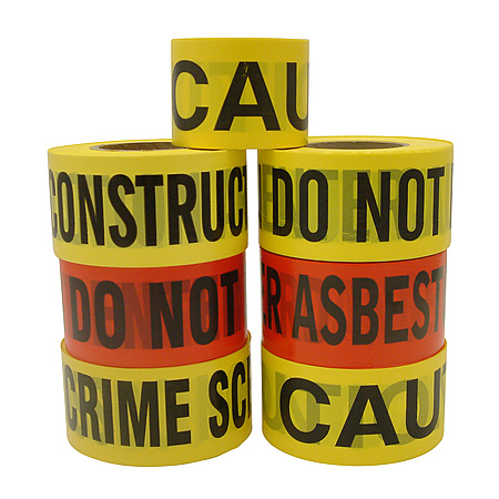 Berry Plastics Barrier Printed Barricade Tape