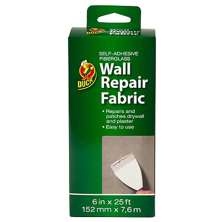 Duck Brand Wall Repair Fabric Self-Adhesive Fiberglass Fabric