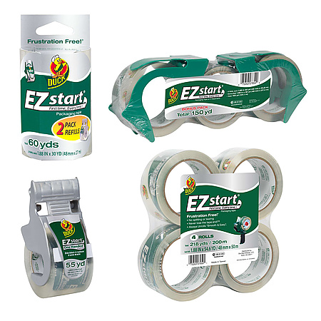 Duck Brand EZ Start Packaging Tape