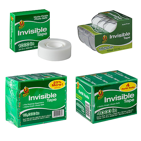 Duck Brand Matte Finish Invisible Tape [photo-safe]