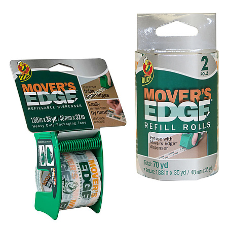 Duck Brand Mover's Edge Packaging Tape