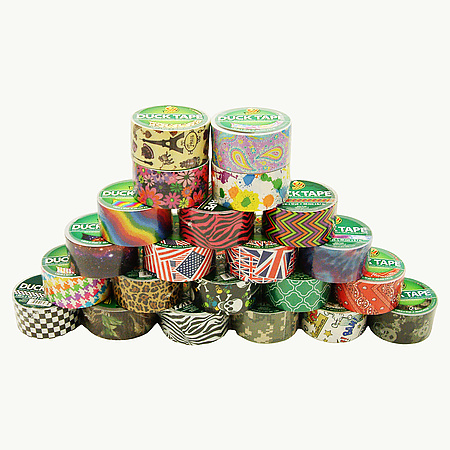 Duck Brand Printed Duct Tape Patterns
