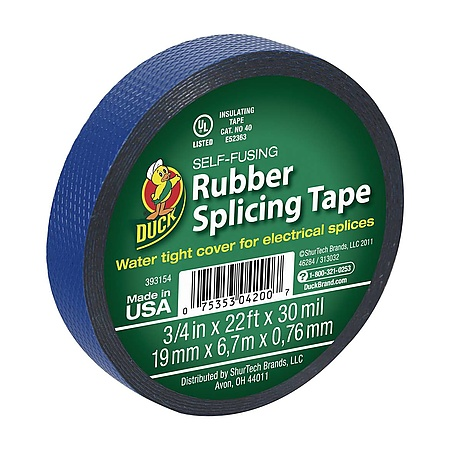 Duck Brand Self-Fusing Rubber Splicing Tape