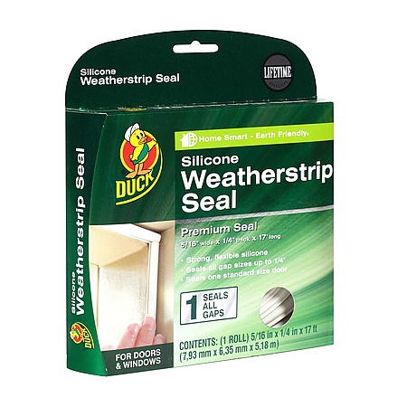 Duck Brand Silicone Weatherstrip Seal [Silicone]