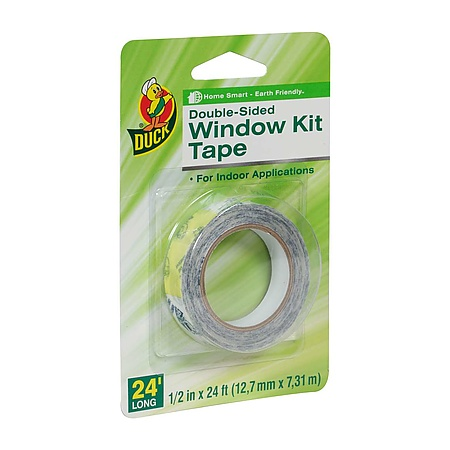 Duck Brand Window Kit Tape Double-Sided Replacement Tape