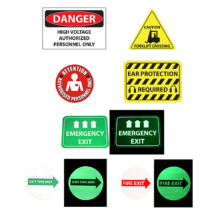 FindTape FM Floor Signs & Markers