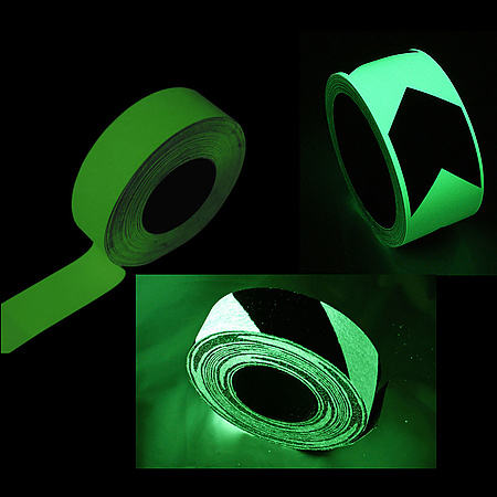 FindTape Glow in the Dark Rolls