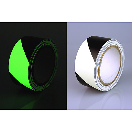 FindTape GLW-HZ Glow in the Dark Egress Hazard Marking Tape