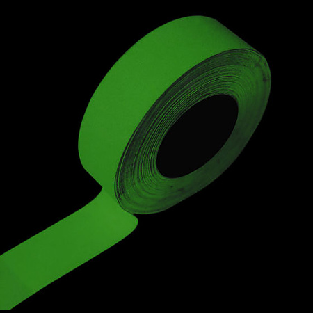 FindTape GLW-SLD Glow in the Dark Egress Marking Tape