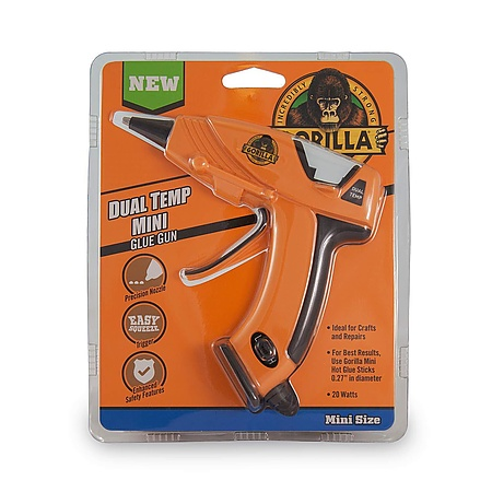 Gorilla Dual Temp Mini Hot Glue Gun