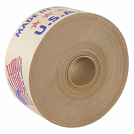 Intertape 240 Made in the USA Printed Reinforced Water-Activated Tape