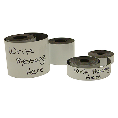 "JVCC MAG-01-W Writeable Magnetic Tape [No Adhesive, 1/32"" thickness]"