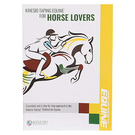 Kinesio Book-Equine Taping Equine for Horse Lovers Book